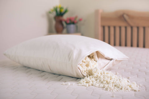 Organic Shredded Latex Pillow - Fully Customizable - Resthouse Sleep Solutions