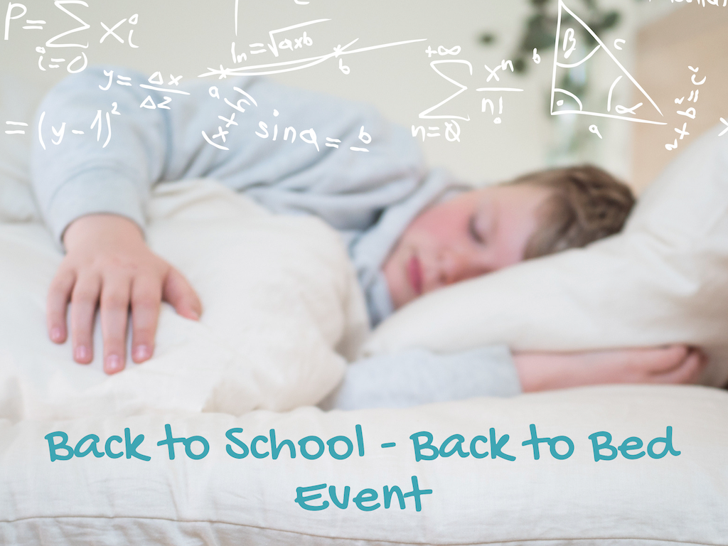 Back to School - Back to Bed Promotion On Now at Resthouse Sleep Solutions in Duncan, BC
