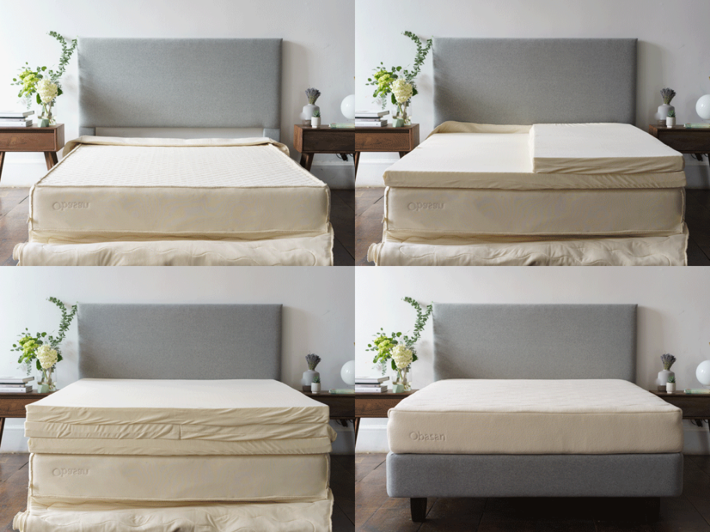 Customizable Organic Mattresses by Obasan Available at Resthouse in Duncan, British Columbia