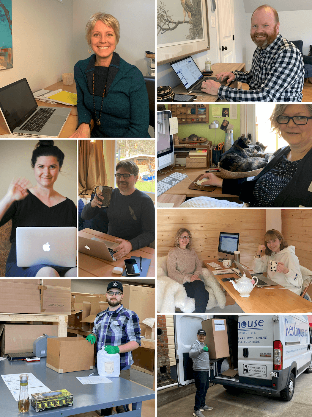 Our Team is Working From Home During COVID-19 Time