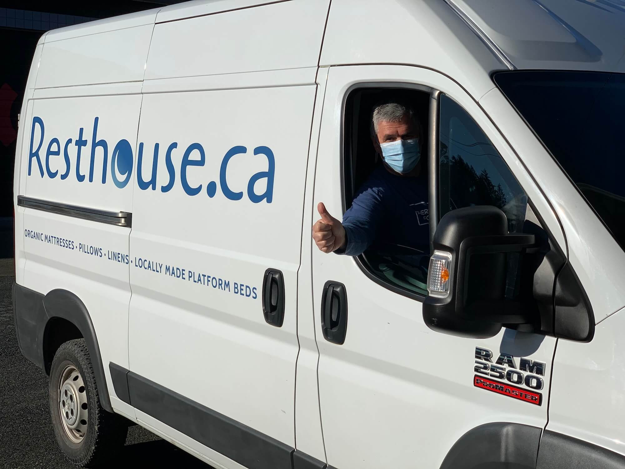 White Glove Delivery Resthouse Delivering to Vancouver Island, Salt Spring and Gabriola Island