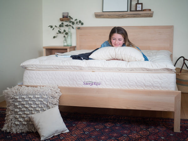Spring Mattress Promotion On Now at Resthouse - Natural and Organic Pillows, Mattress Protectors and Sheets by Savvy Rest