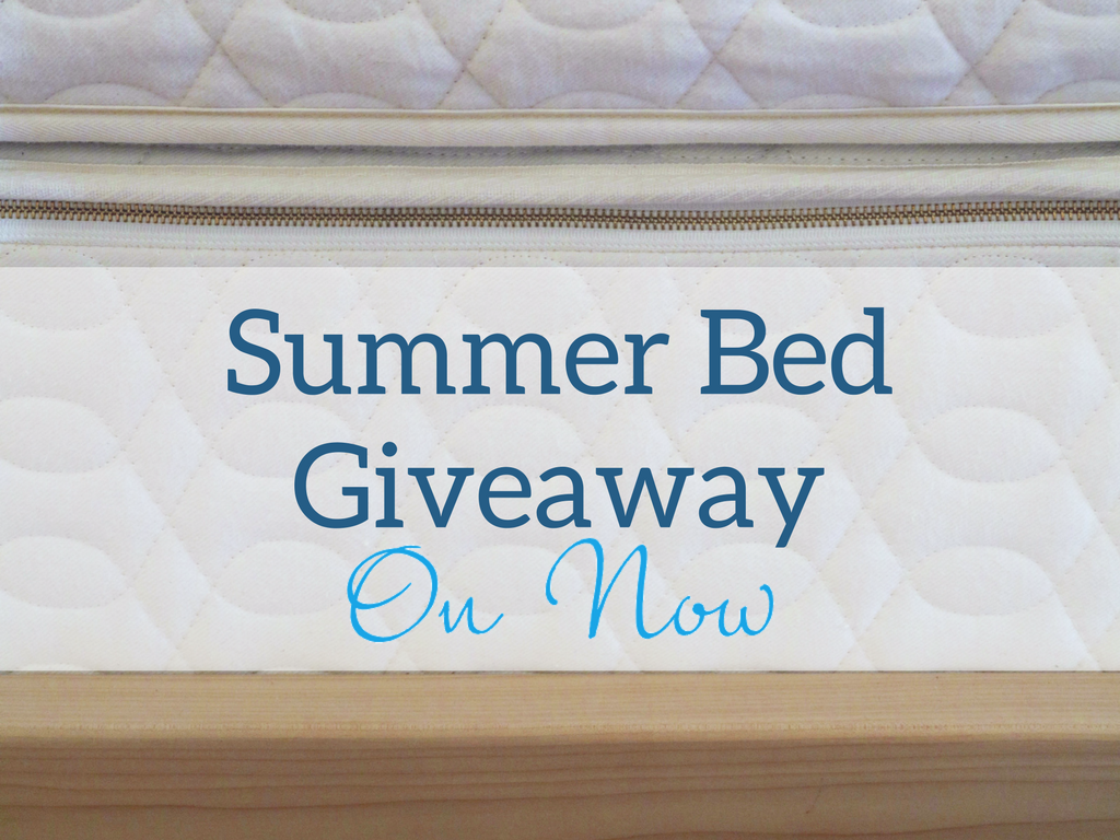 Summer Bed Giveaway Win Unity Natural Latex Mattress and Xisto Western Maple Platform Bed Frame at Resthouse in Duncan, BC on Vancouver Island