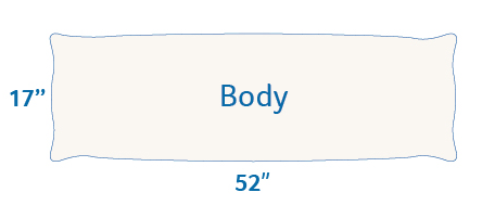 Body Pillow Size Dimensions