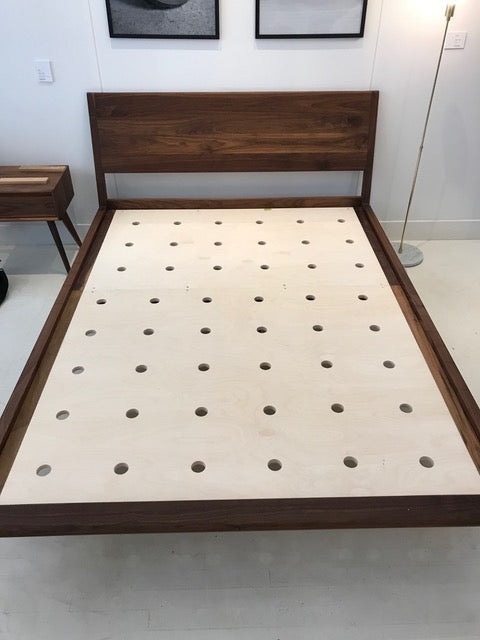 plywood support bed