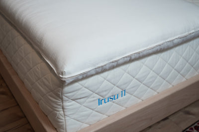 "2"" Premium Eco Wool™ / Latex Mattress Topper by Resthouse Sleep Solutions"