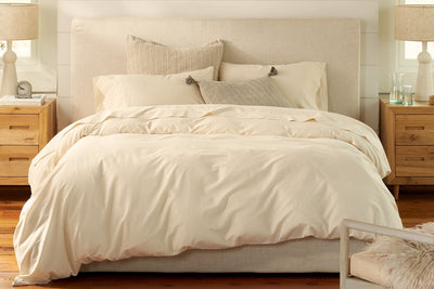 Organic Sateen Duvet Covers available at Resthouse Sleep Solutions
