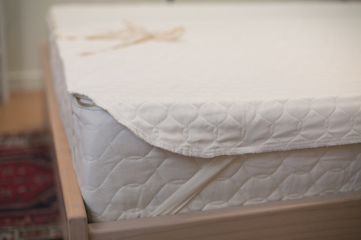 Organic mattress protection - available at Resthouse Sleep Solutions