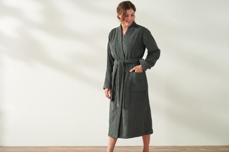 Unisex Air Weight Organic Cotton Robe