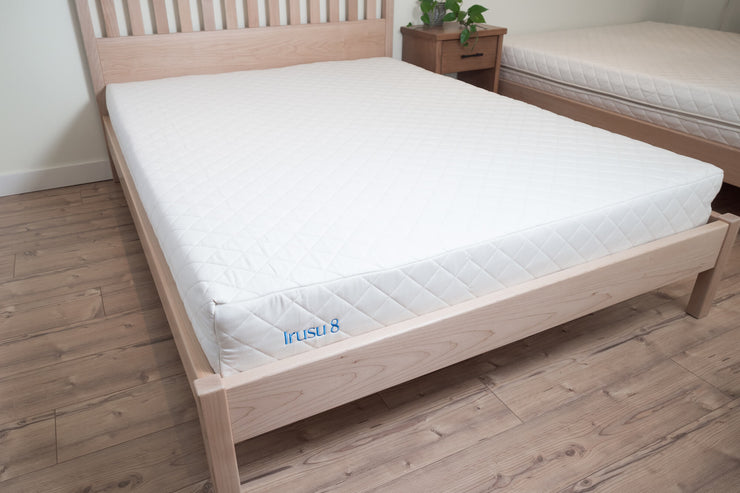 Handcrafted platform beds at Resthouse Sleep Solutions. Locally sourced wood and certified sustainable. Made in Canada.