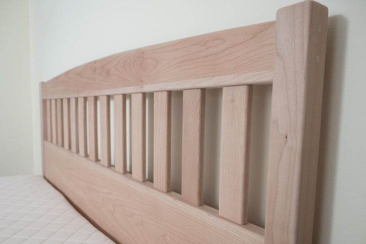 Solid Wood Platform Bed Frames are hand-crafted using sustainably harvested Western Maple by Alternative Woodworks on Vancouver Island, Canada