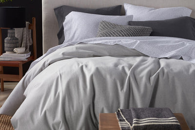 Organic Cotton Flannel Duvet Covers Available at Resthouse