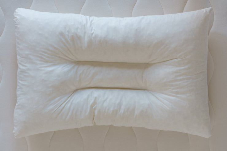 Organic Shredded Latex Contour Pillow by Obasan - Made in Canada