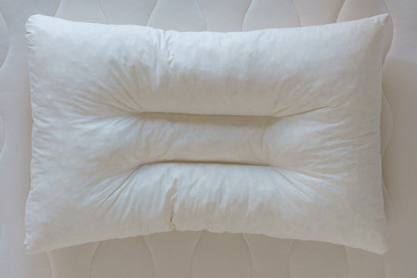 Organic Shredded Latex Contour Pillow by Obasan