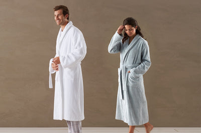 Unisex Cloud Loom Organic Cotton Robe
