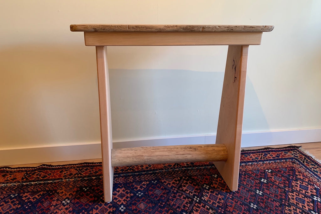 Western Maple Console Table