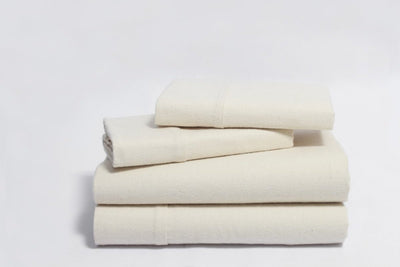 Organic Cotton Flannel Sheet Sets by Naturesoft
