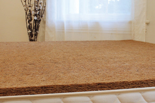 Coconut Coir Natural Bed Rug - Resthouse Sleep Solutions