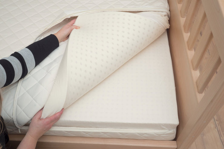 Customizable mattress for each side for couples