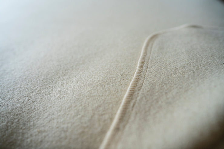 Water repellent wool mattress covers