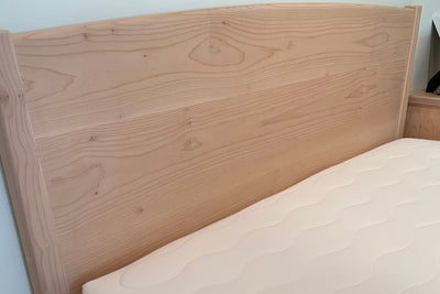 "Western Maple Platform Bed Frame ""Lado"""