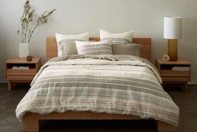 Lost Coast Organic Cotton Duvet Cover by Coyuchi