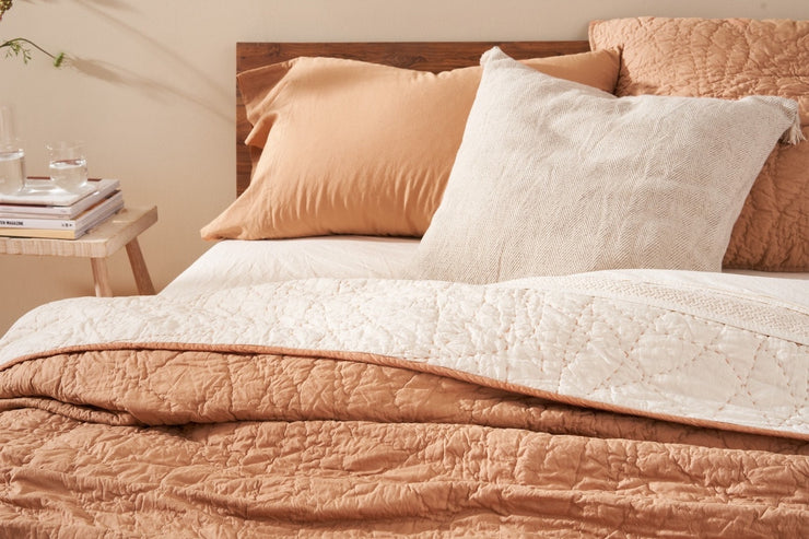Luxurious organic cotton quilt from Resthouse Sleep Solutions