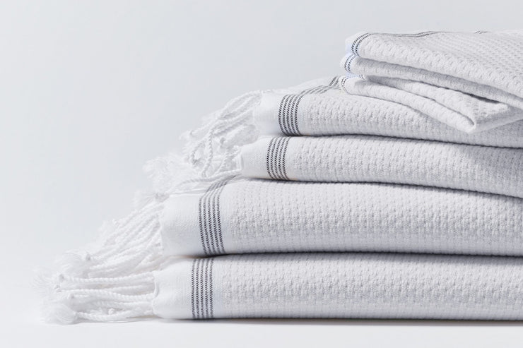 Luxurious organic bath towels by Coyuchi