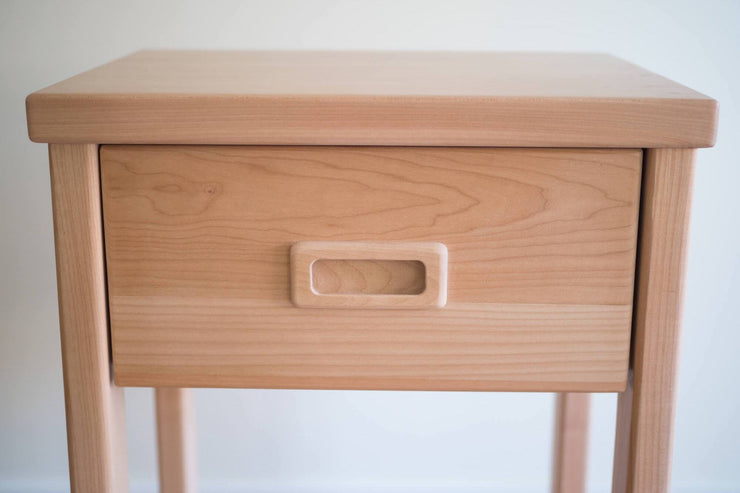 Western Maple Bedside Tables - Made locally in Mill Bay by Alternative Woodworks