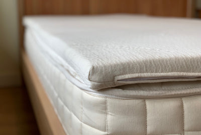 Organic Dunlop Latex Mattress Topper by Nature's Embrace