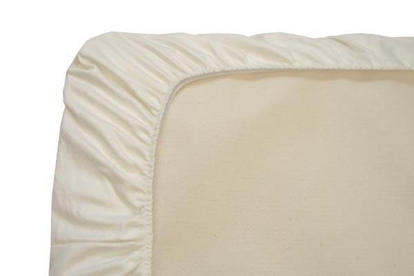 Clearance Organic Cotton Flannel Crib Protector Pad