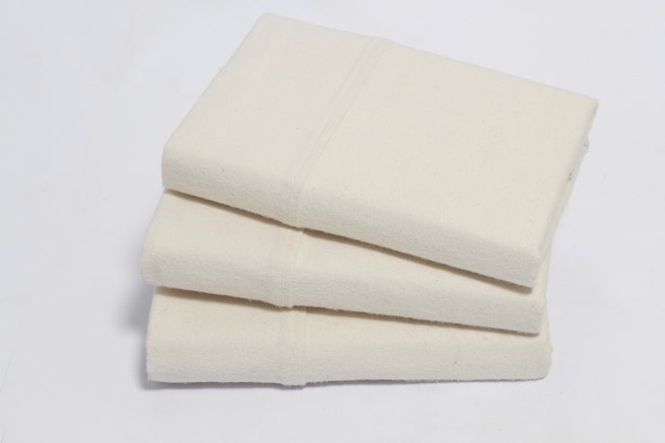 Organic Cotton Flannel Pillowcases by Naturesoft