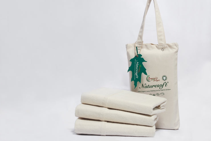 Soft and Cozy Organic Pillowcases available at Resthouse Sleep Solutions, British Columbia, Canada