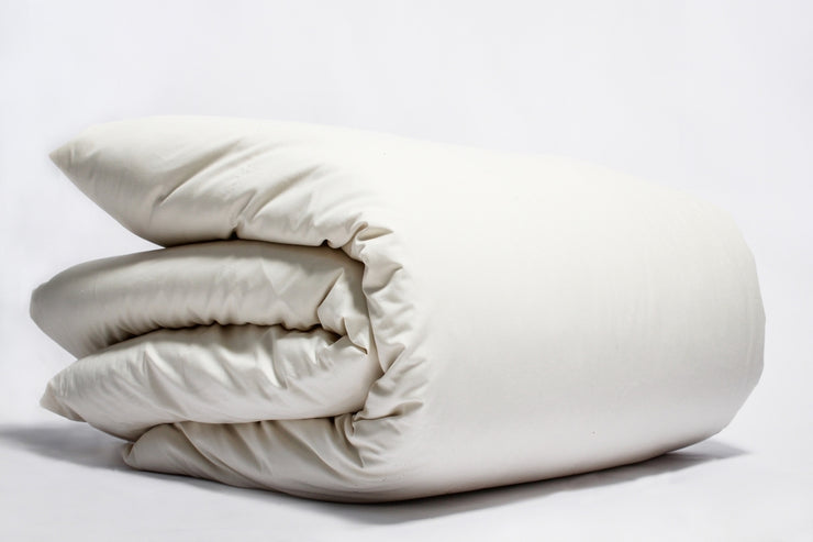 Organic Cotton Percale Duvet Covers by Naturesoft