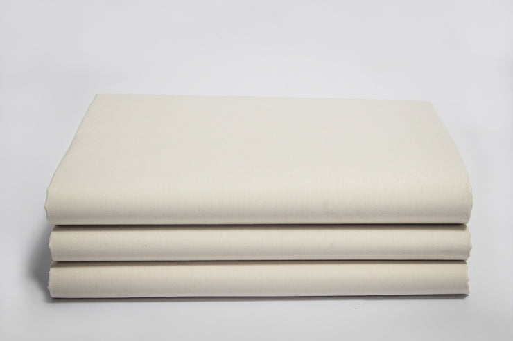 Organic Cotton Percale Fitted Sheet by Naturesoft
