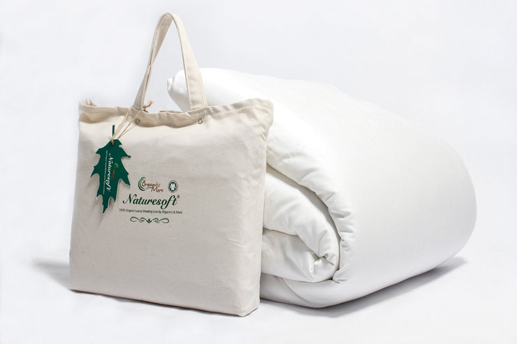 Breathable, soft, durable organic duvet covers by Naturesoft