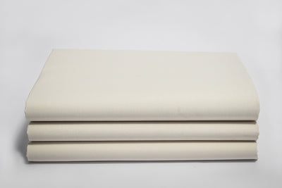 Organic Cotton Sateen Fitted Sheets by Naturesoft