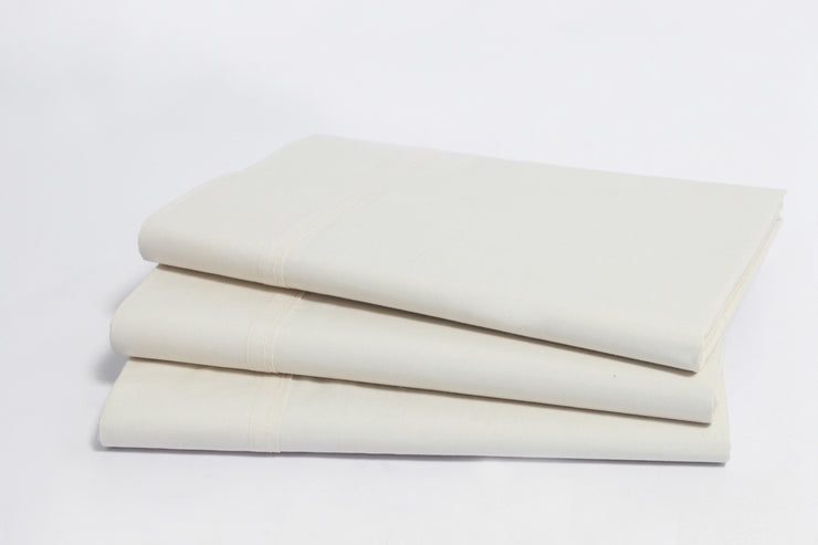 Organic Cotton Sateen Flat Sheets by Naturesoft - Soft, Breathable Flat Sheets