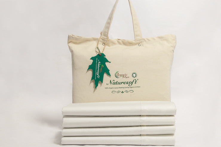 Organic Flat Sheets - Made from 100% GOTS certified organic cotton