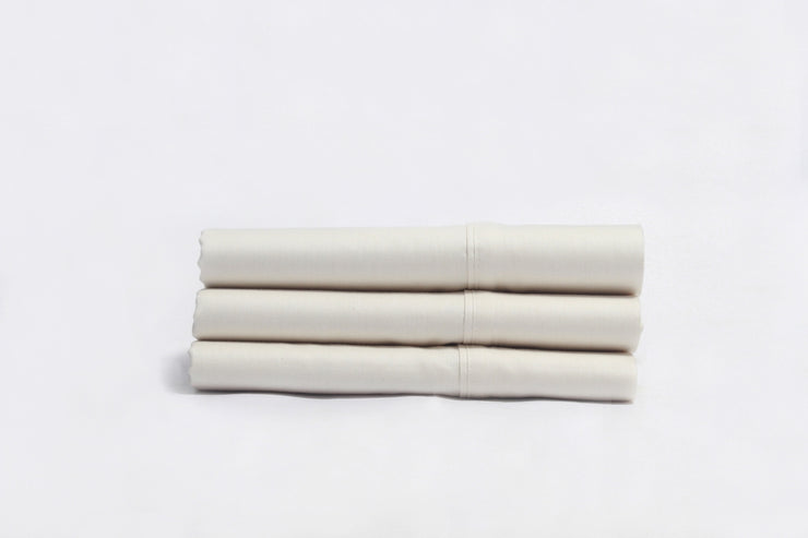 Organic Cotton Sateen Pillowcases by Naturesoft