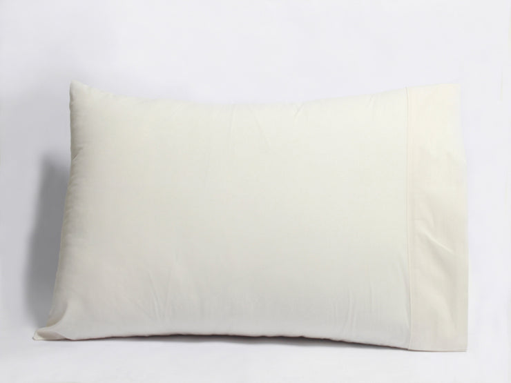 Organic pillowcases made from 100% GOTS certified organic cotton