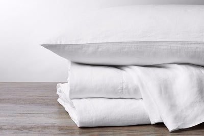 Organic Relaxed Linen Pillowcases by Coyuchi - Organic Linen Pillowcases