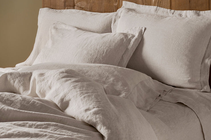 Organic Relaxed Linen Sham by Coyuchi - Available at Resthouse Sleep Solutions