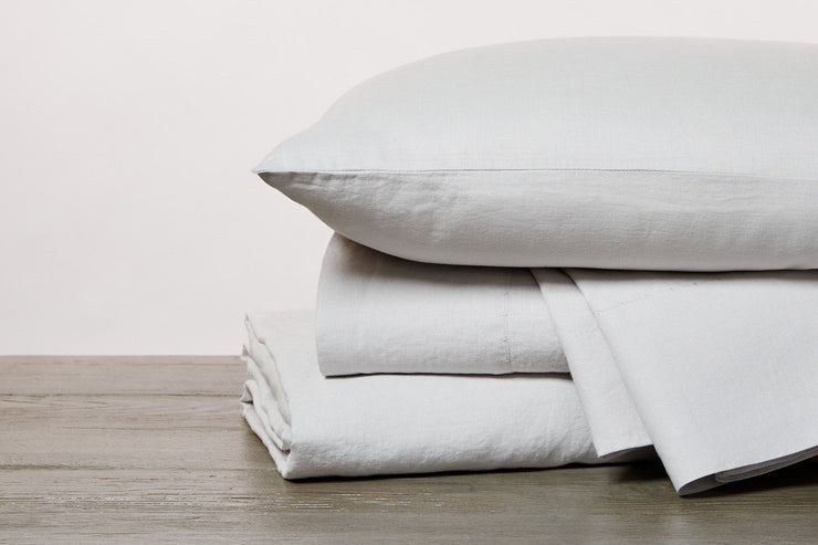 GOTS certified organic linen sheets available at Resthouse Sleep Solutions
