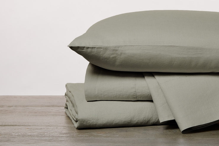 Coyuchi Linen Sheets - Breathable, Absorbent, Insulating