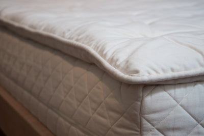 "2"" Organic Wool Mattress Topper - Made in Canada"