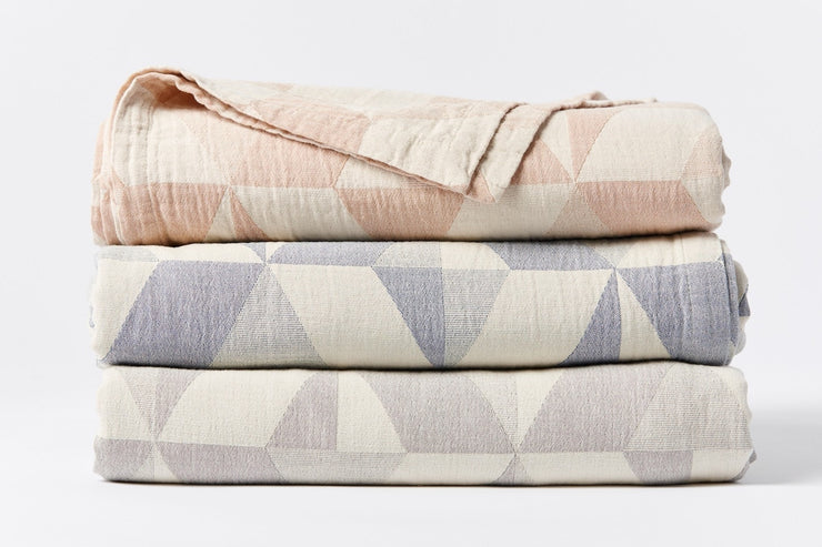 Pismo Organic Cotton Blanket by Coyuchi - Organic Blankets at Resthouse Sleep Solutions
