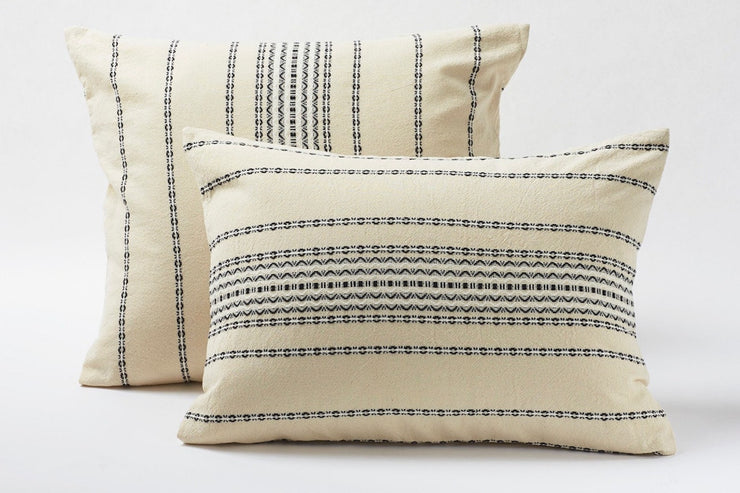 Luxurious organic pillow shams from Resthouse - Available in Canada