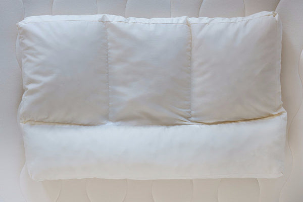 Shredded Latex Baffle Pillow by Obasan