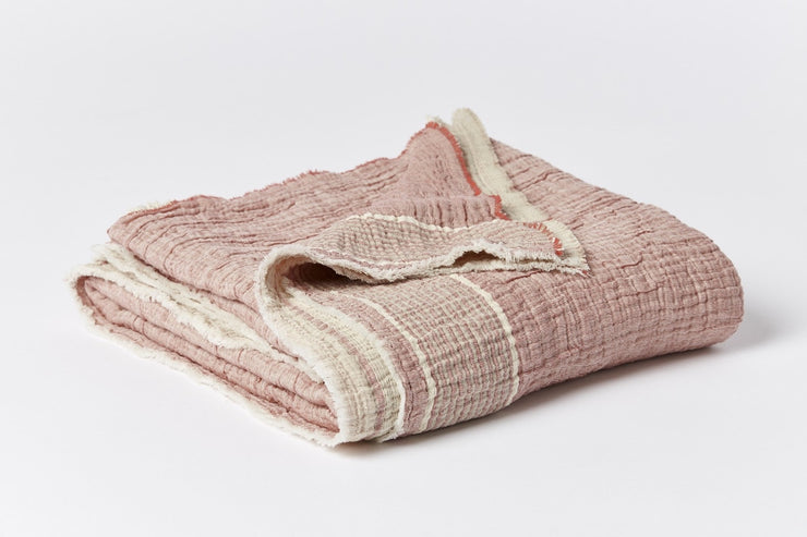 Topanga Organic Cotton Matelasse Throw